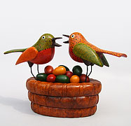 Birds in Basket